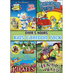 Kids Cartoon Pack Collector's Set