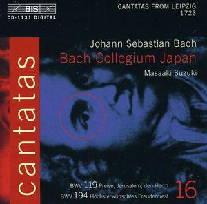 Cantatas 16