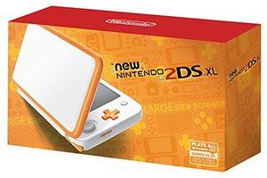 Nintendo New 2DS XL Hardware: White and Orange