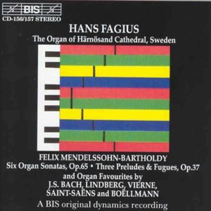 At the Organ of Harnosand Cathedral Sweden