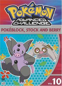 Pokémon: Advanced Challenge: Volume 10: Pokéblock, Stock and Berry