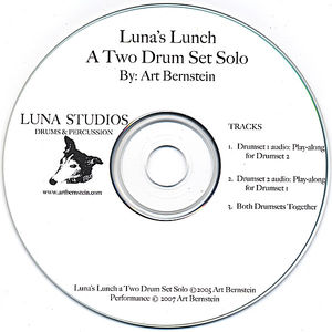 Luna's Lunch a Two Drum Set Solo