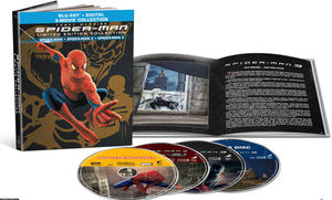 Spider-Man: 3-Movie Collection (Limited Edition Collection)