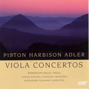 American Viola Concertos