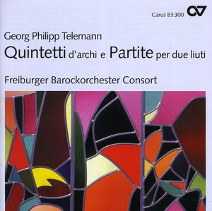Quintets for Strings & Partitas for 2 Lutes
