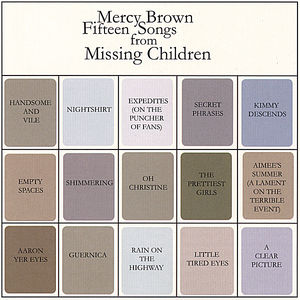 Fifteen Songs from Missing Children