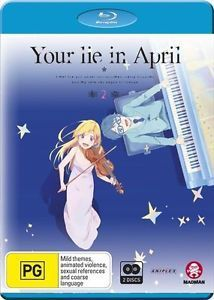 Your Lie in April Part 2: Eps 13-22 [Import]