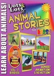 Lots & Lots Of Animal Stories For Kids V3 Birdies