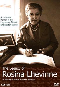 The Legacy of Rosina Lhévinne