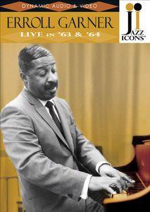 Jazz Icons: Erroll Garner Live in 63 & 64