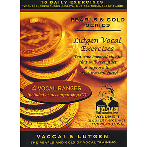 Lutgen Vocal Exercise: For High Voice 2