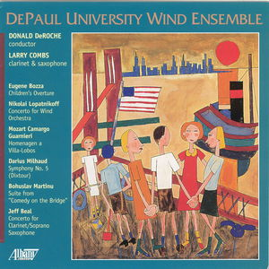 Children's Overture /  Concerto for Wind Orchestra