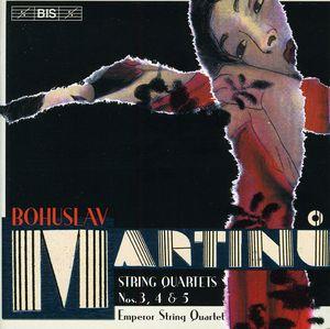 String Quartets 3 5 & 4