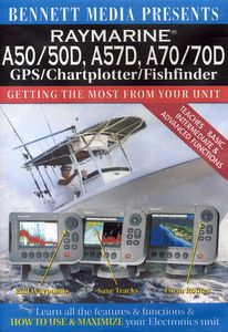 Raymarine A50 /  A50d, A57d, A70 /  A70d Gps /  Chartplotter /  Fishfinder