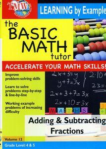 Basic Math Tutor Adding & Subtracting Fractions