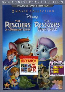Rescuers 35th Anniversary Edition and Rescuers Down Under