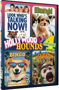 Hollywood Hounds - 4 Paw-Some Movies! DVD