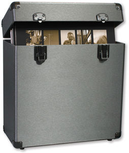 Vinyl Styl™ Groove Record Carrying Case (Graphite)