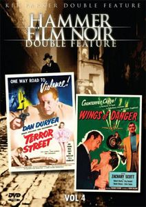 Hammer Film Noir Double Feature Vol. 4: Terror Street /  Wings of Danger