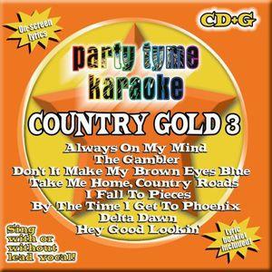Party Tyme Karaoke: Country Gold, Vol. 3