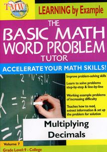 Basic Math Word Problms: Multiplying Decimals