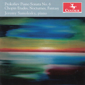 Piano Sonata No. 6 /  Etudes Nocturnes Fantasy