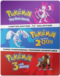 Pokemon Movies 1-3: Collection