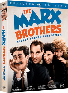 The Marx Brothers Silver Screen Collection (Restored Edition)