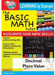 Basic Math Tutor: Decimal Place Value
