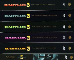 Babylon 5: Complete Series With Movies
