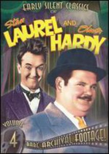 Early Silent Classics of Stan Laurel and Oliver Hardy: Volume 4