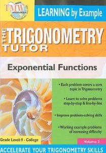 Triginometry: Exponential Functions