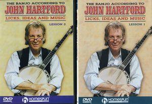 The Banjo According to John Hartford: Volume 1 and 2
