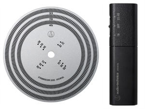 AUDIO TECHNICA AT6181DL STROBOSCOPE DISC QRTZ LGT