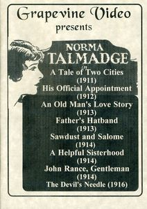 Norma Talmadge at Vitagraph