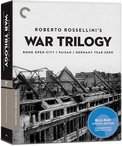 Roberto Rossellini's War Trilogy (Criterion Collection)
