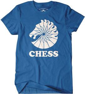 Chess Records Blue Classic Heavy Cotton T-Shirt (XL)