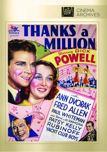Thanks a Million , Dick Powell