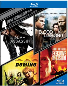 4 Film Favorites: Action Thrillers