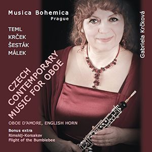 Czech Contemporary Music for Oboe