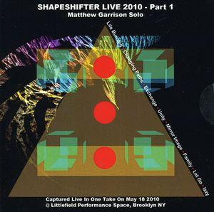 Shapeshifter Live 2010 - Part 1, Matthew Garrison