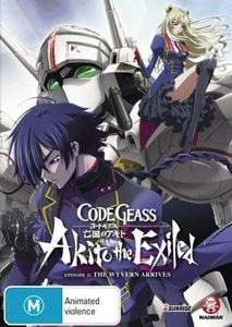 Code Geass: Akito the Exiled-Ep1 the Wyvern Arrive [Import]