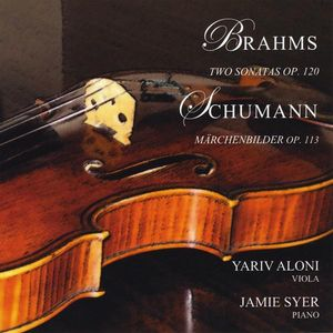 Brahms: Sonatas for Piano & Viola Schumann: March