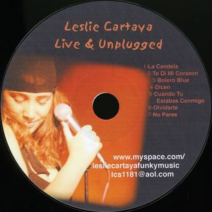 Leslie Cartaya Live & Unplugged