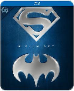 Batman and Superman 9-film Set