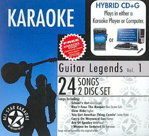 Karaoke: Guitar Legends