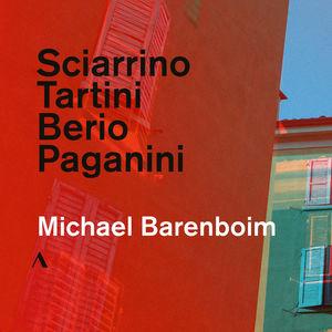 Sciarrino /  Tartini /  Berio /  Paganini