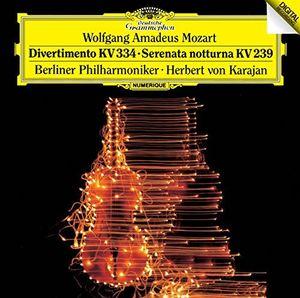 Mozart: Divertimento KV334 /  Serenata