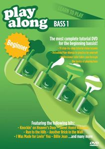 Playalong: Learn to Play Bass 1