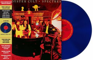 Spectres - Clear Blue Lp 2018 , Blue Oyster Cult